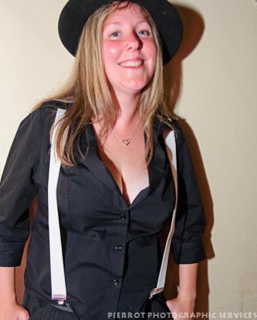 Cromer carnival fancy dress pretty gangster moll
