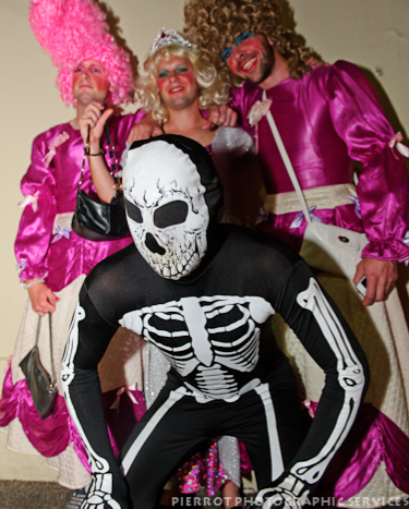 Cromer carnival fancy dress skeleton