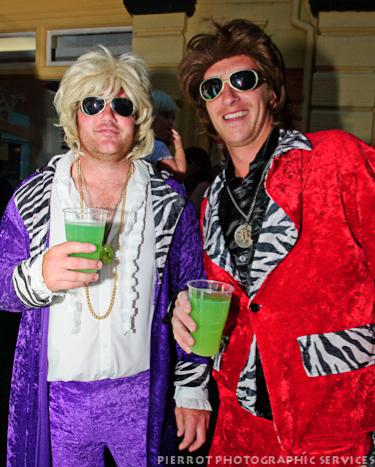 Cromer carnival fancy dress two aging rock stars