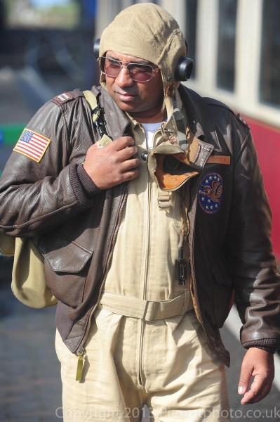 American fighter pilot
