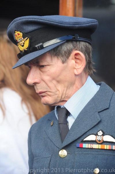Older man in RAF uniform