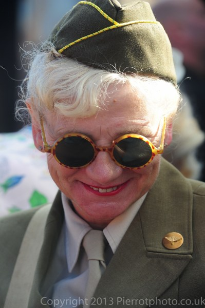 Woman in American uniform