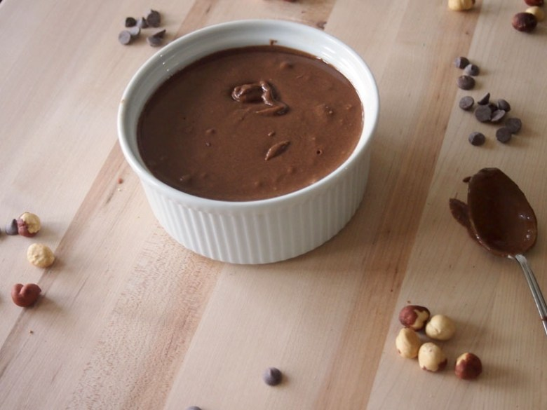 Paleo Midnight Nutella Dip