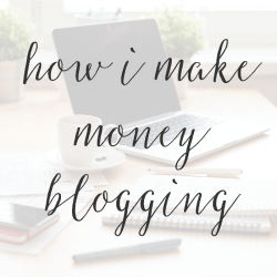 How I Make Money From My Blog Without Writing Sponsored Posts