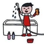 お風呂の掃除は簡単に水垢と皮脂汚れカビまできれいになくなる!