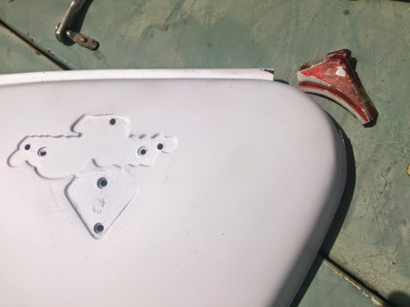 CB750 side cover 1