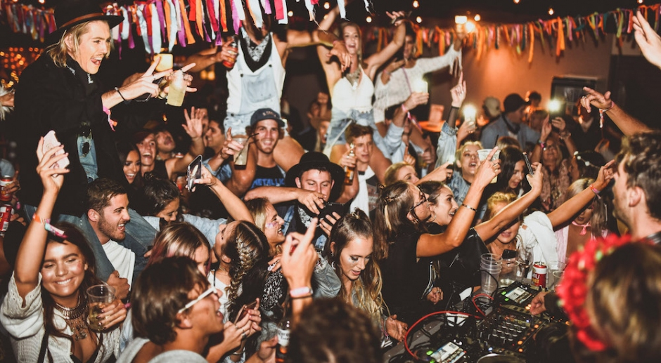 PNAU played a DJ set at a random house party in Perth last weekend     PNAU played a DJ set at a random house party in Perth last weekend