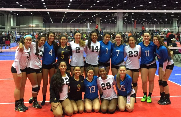 Pilipa'a 16's and new friends from Woodlands Revolution of Houston, Texas