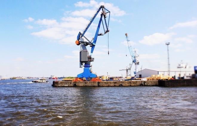 Hamburger Hafen Kran