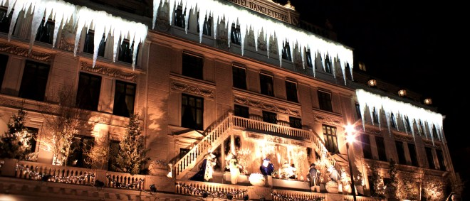 Hotel D'Angleterre zu Weihnachten