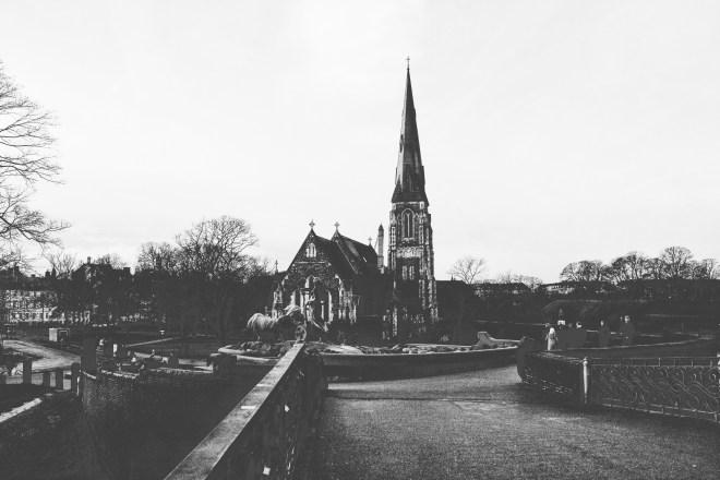Die Kirche Sankt Alban