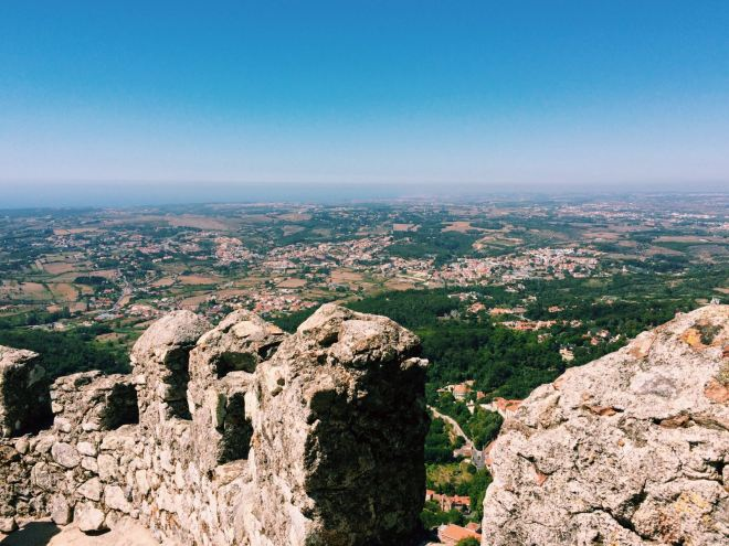 Aussicht Castelo dos Mouros