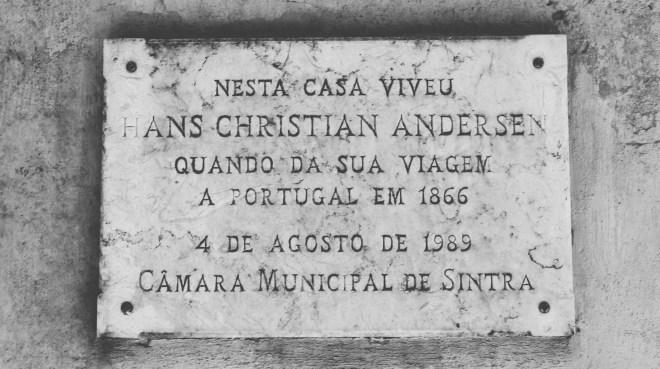 Hans Christian Andersen in Sintra