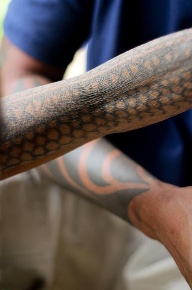 Whang Od tattoo