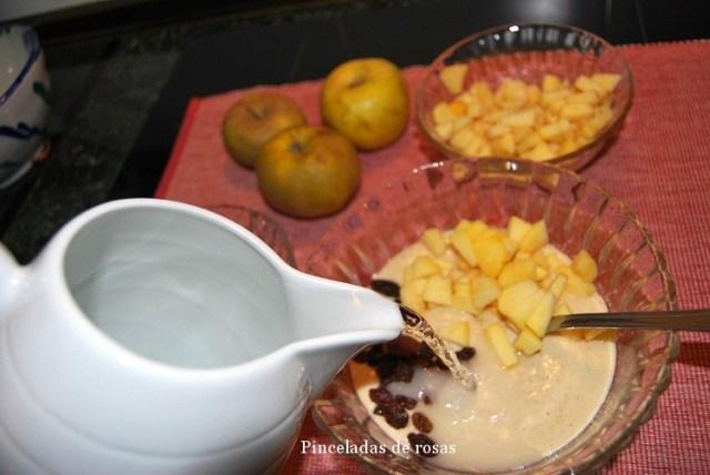 Ajo blanco de almendras (2)