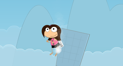 early poptropica jet pack