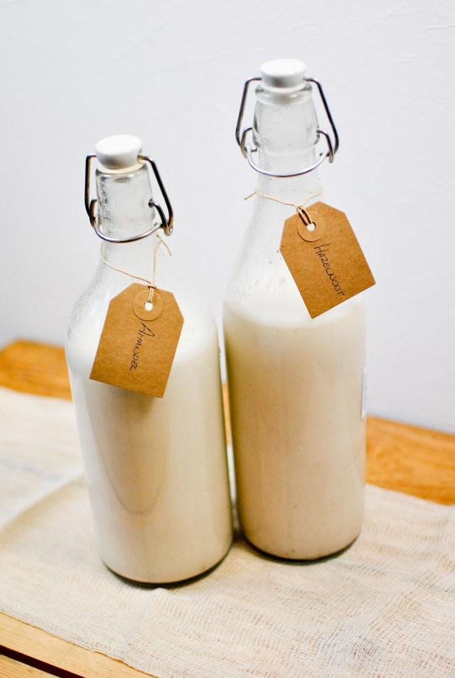Nut milk - vegan, raw, gluten-free - A pinch of me