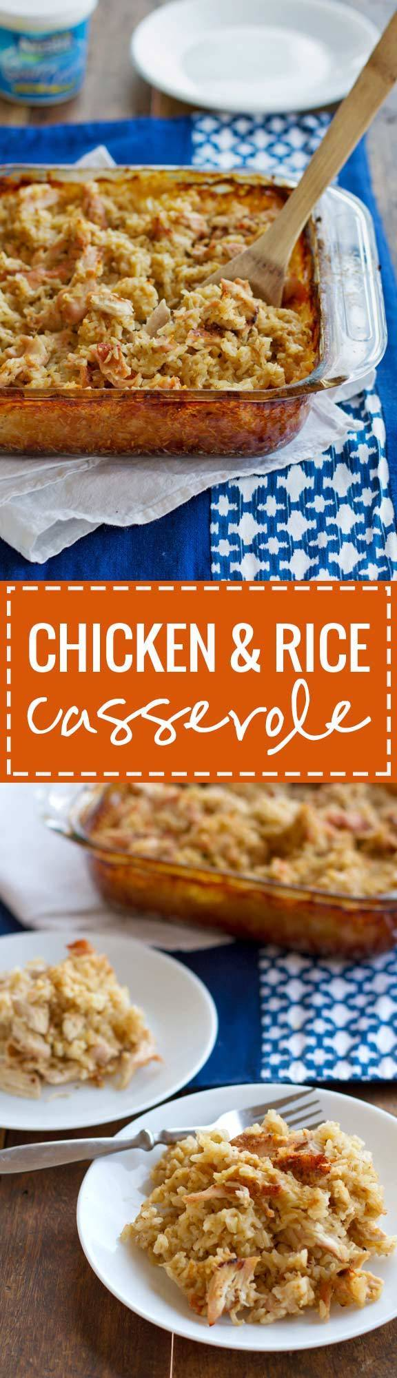 Large Of Campbells Chicken And Rice Casserole