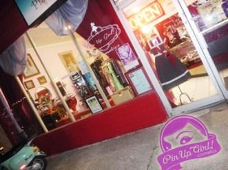 Pin-Up Girl Cosmetics Atlanta Store Front