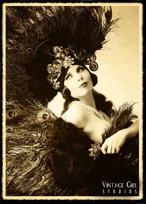 Ludella Hahn.  Vintage Girl Studios.