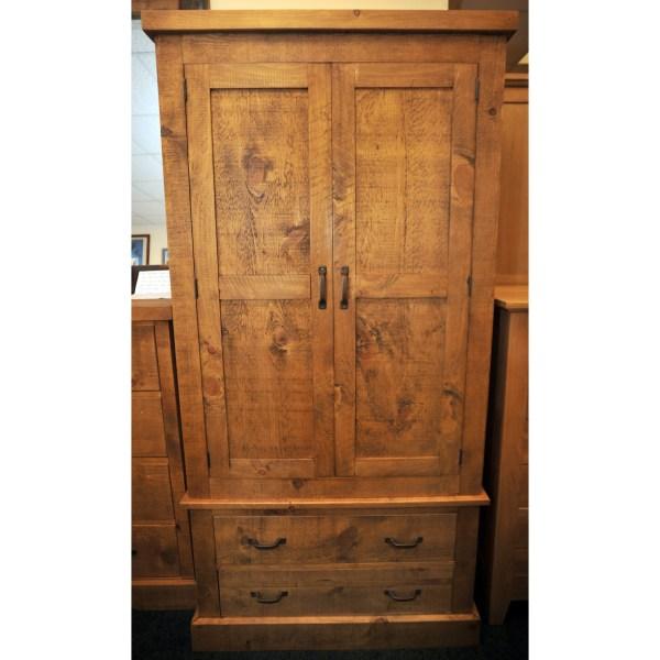 rustic-pine-wardrobe