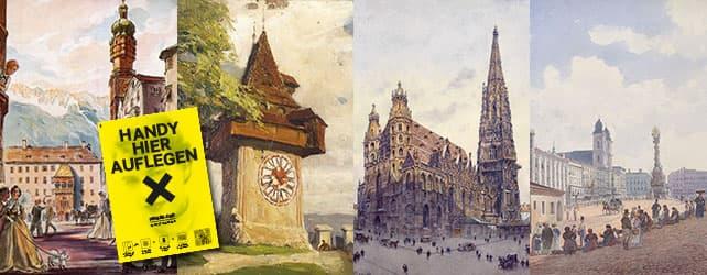 Diverse Gemälde aus Österreich