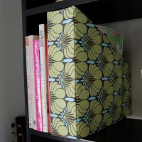 Recycled Magazine Holder