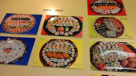 Jumbo Sushi Party Trays