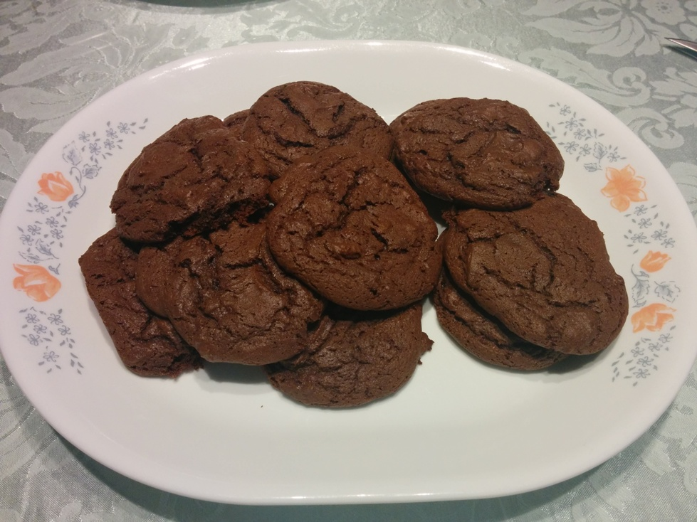 Chocolate Cake Mix Cookies | Constant Cravings