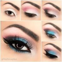 Blue Smokey Eye Step By Step Pictorial