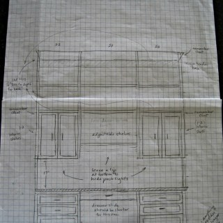 Dining Room/Home Office {The Plans}