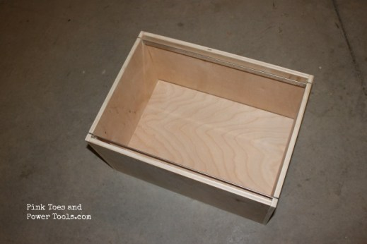 Build your own hanging file drawer