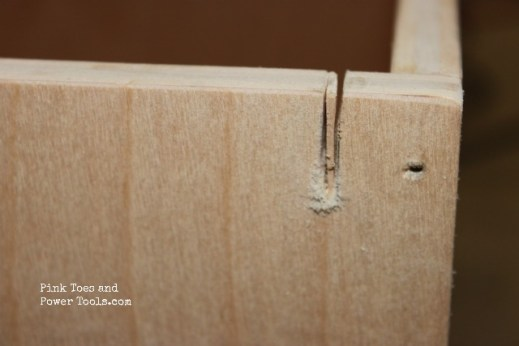 Second cut for hanging file drawer