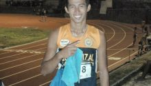 With a tough heat Rey Aldrin Dizon is out to defend his title at the NCAA.