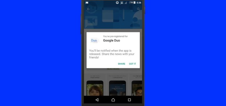 How to get Google Duo – Get notified when it becomes available for download