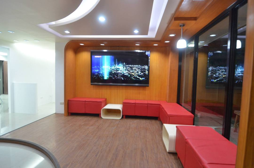 Inside the Sharp Service Center Davao