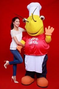 Erich and Choobi Choobi Mascot