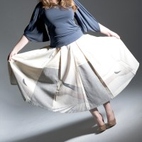 Sew 2012 #016: The Small One Skirt