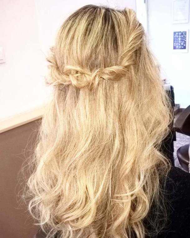 Romantic hairstyle for every occasion! hairstyle boho waves braid twusthellip