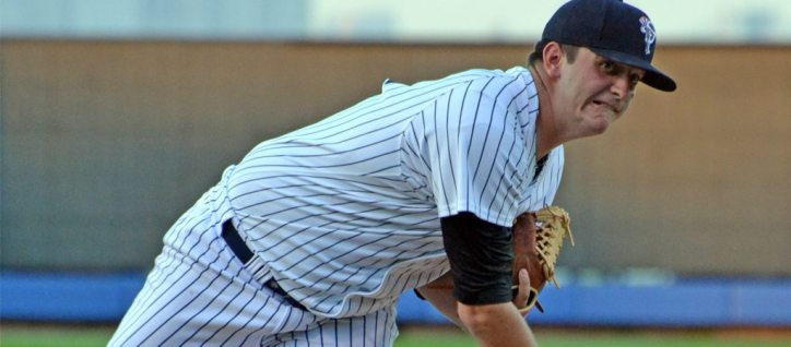 Right-hander David Palladino will get the start on Opening Day for Staten Island (Robert M Pimpsner)