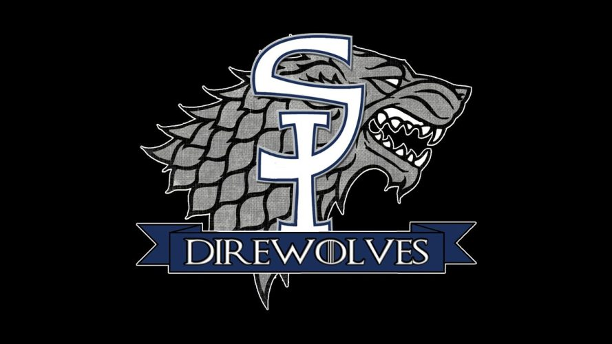 The official logo of the Staten Island Direwolves.