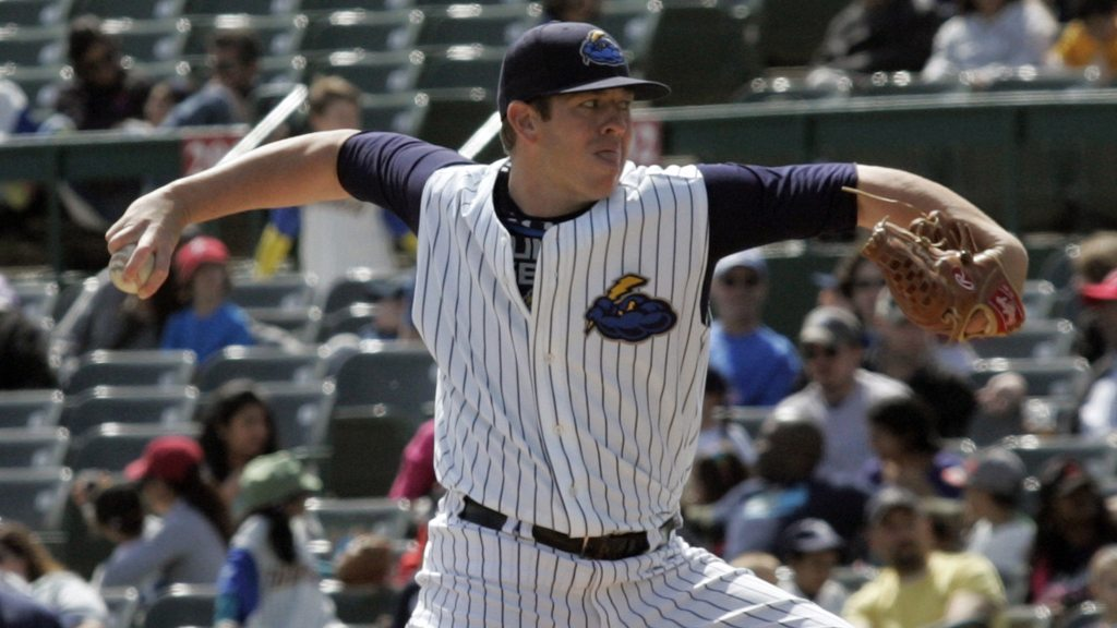 Lefty Johnny Barbato is pitching well out of the RailRiders bullpen.