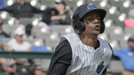 Jose Rosario was 3-for-3 in the Trenton Thunder's loss Tuesday night.