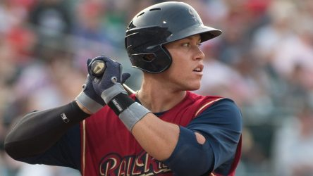 Even with a bit of scuffling, Aaron Judge hit 20 home runs in 2015. (Cheryl Pursell)