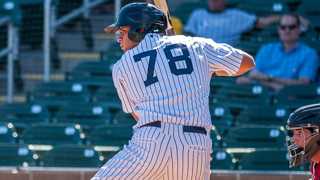 """Gary Sanchez went deep, earning him 2 RBIs and Star of the Game honors  ( Ryan """"Moose"""" Morris - Freelance Photographer)"""