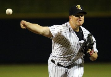 Reliever Vinnie Pestano suffered the loss for the RailRiders Saturday afternoon.