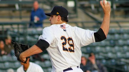 Brody Koerner was superb for the RiverDogs (Jerry Coli)