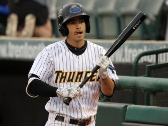 Tyler Wade's inside-the-park home run capped the Thunder's winning rally. (Photo by Martin Griff)