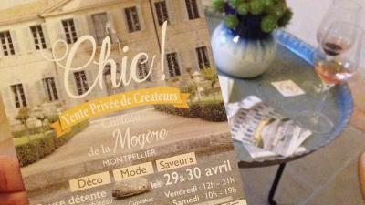 Vente Privée CHIC à Montpellier // concentré de créateurs 29 & 30 AVRIL 2016