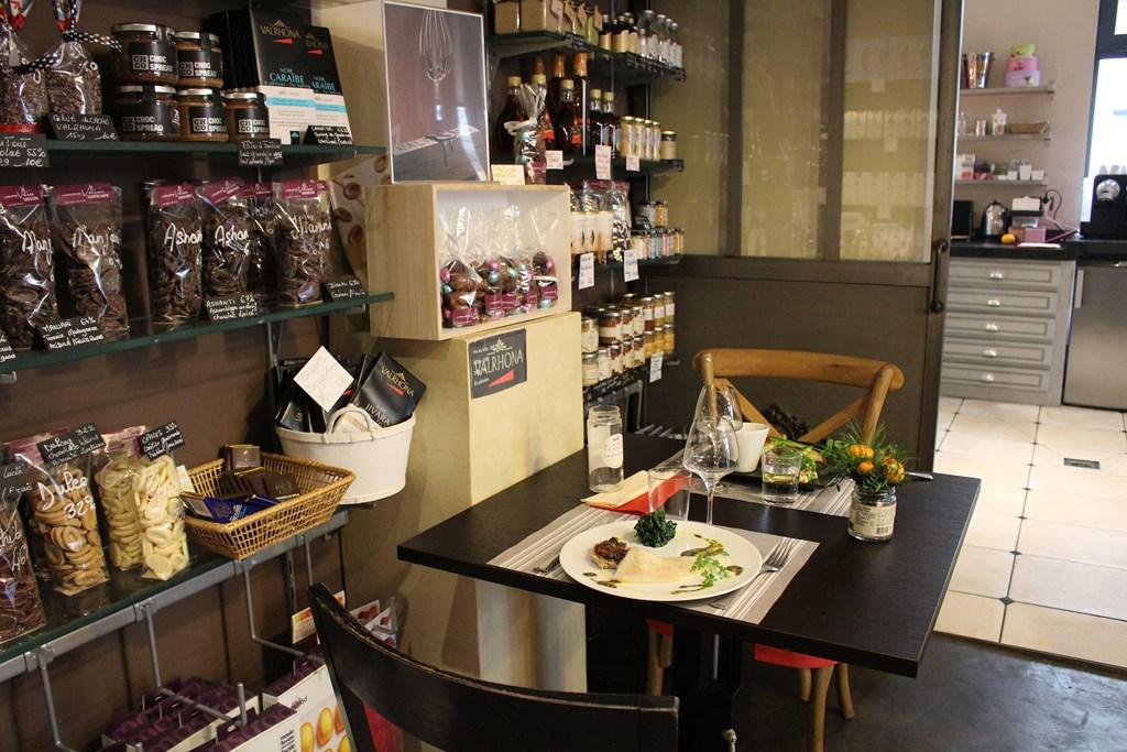 L 39 atelier de val rie nouvel espace de restauration pour for La cuisine de valerie